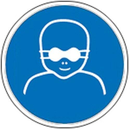 Cartel Mandamiento caracteres según ISO 7010 - Niños ...