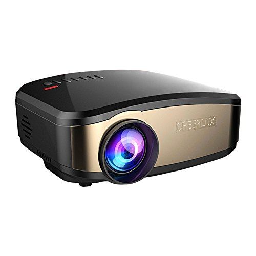 Full HD Wireless Projector, Boscheng LCD 1200 Lumens 1080P Portable Mini Movie WiFi Projector Multimedia Video Projector Support AirPlay Miracast Wireless Display