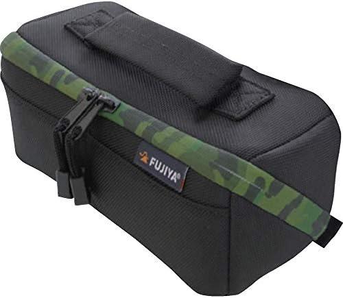 フジ矢(Fujiya) 布製工具ケース Hippo CASE FHC-MG ガバッと開いて中身が見やすい 迷彩ファスナーGREEN