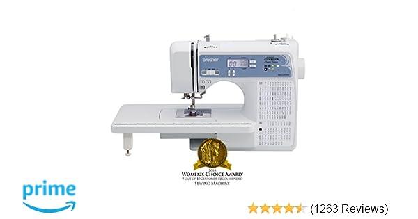 Amazon.com  Brother Computerized Sewing Machine e4999aa80f