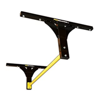 Pull Up Bar Ceiling / Wall /Joist Mounted (Long Yellow Bar) PRO Mountings