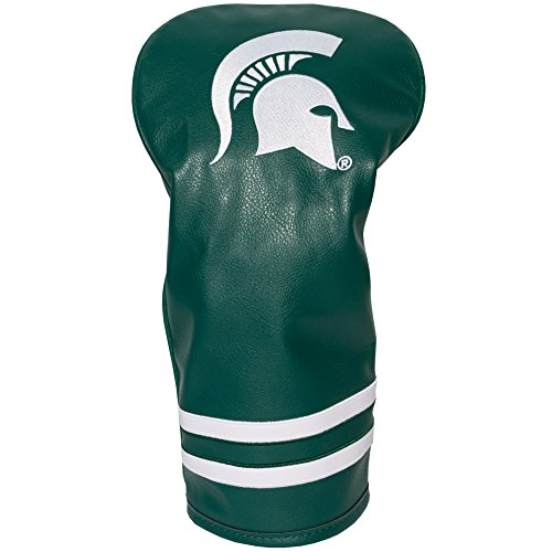 gan State Spartans Vintage Driver Golf Club Headcover, Form Fitting Design, Retro Design & Superb Embroidery ()