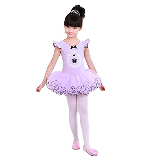 George Jimmy kid Ballet Dress/Purple Swan Lake Costumes/Sling Ballet Skirt by George Jimmy