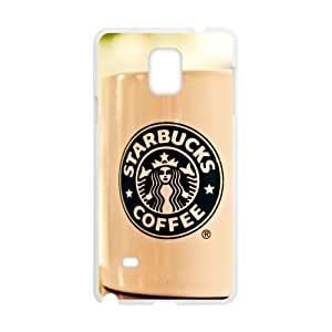 Design of a Cup of coffee Starbucks Ice Coffee Custom case cover for SamSung Galaxy Note4? by runtopwell