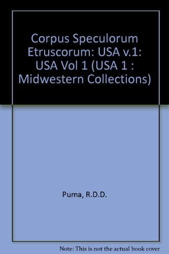 Corpus Speculorum Etruscorum (USA 1 : Midwestern ()