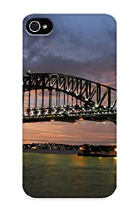 New Standinmyside Super Strong Sydney Harbour Bridge Tpu Case Cover Series For Iphone 4/4s