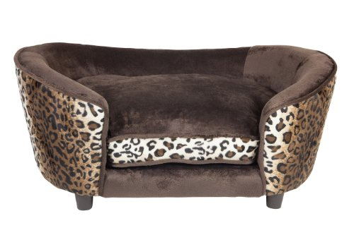 Large-Ultra-Plush-Snuggle-Bed-Leopard