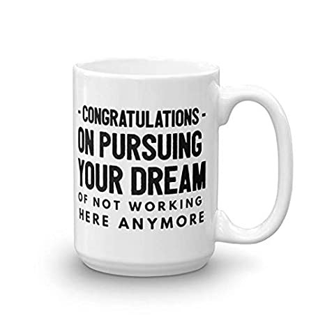 5bbbba2b5c81 Congratulations leaving gifts mugs Coworkers Colleague Boss best coffee tea  cup funny friend Retirement Goodbye Farewell