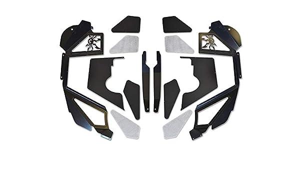 Poison Spyder Customs Spydershell Inc 17-02-080-cop1 Jk Inner Fender Coilover Vented Front