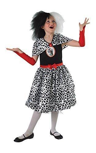 DISNEY ~ Cruella De Vil - Kids Costume 9 - 10 years by Rubies