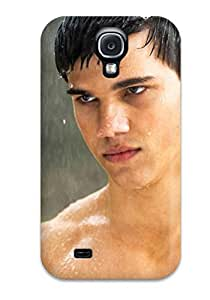 Fashionable Style YY-ONE Skin For Galaxy S4- Men Male Celebrity Taylor Lautner Desktop Screensaver Twlight Star