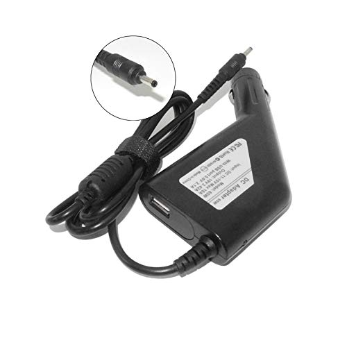 19V 3.42A 65W Laptop Dc Car Charger Compatible with Acer Iconia S5 S7 W700 W700P Power Adapter for Acer Chromebook C720 C720p ()
