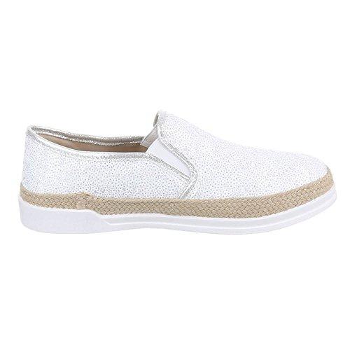 Ital-Design - Zapatos Mujer Blanco - blanco