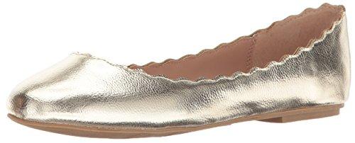 MIA Women's Beth Ballet Flat Soft Gold omS8X