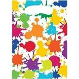 Artist Party Favor Cellophane Bags - 8 Ct Paint Party Treat Bags