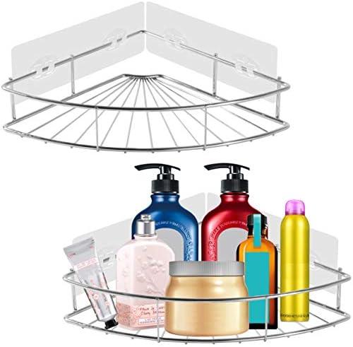 PENGKE Adhesive Bathroom Organizer Drilling