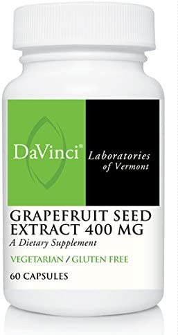 Davinci Laboratories – Grapefruit Seed Extract, Gse Supplement for Gi Issues, 60 Ct, 60 Count