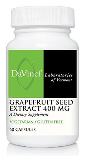 DaVinci Labs Grapefruit Seed Extract 400 Mg, 60 capsules