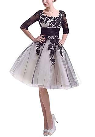 Amazon.com: Snowskite Women's Short Half Sleeves Black