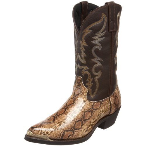 Laredo Men's 68068 Monty Western Boot,Brown/Copper,9.5 D US