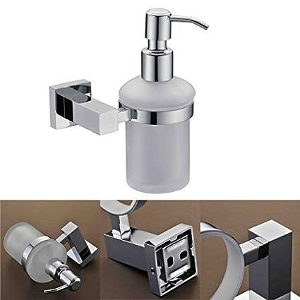 Kinse® Dispensador de jabón con soporte, para soporte Jabonera O Dispensador de accesorios para