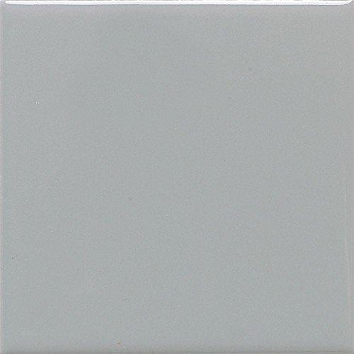 Daltile Semi-Gloss Desert Gray 4-1/4 in. x 4-1/4 in. Ceramic Floor and Wall Tile (12.5 sq. ft. / case) (Gray Daltile Flooring)