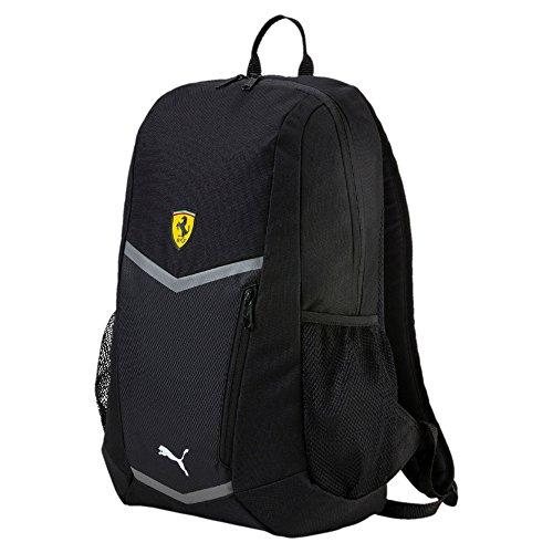 luxuriant in design aliexpress high fashion Ferrari Puma SCUDERIA Backpack Sports Bag Book Bag - Black