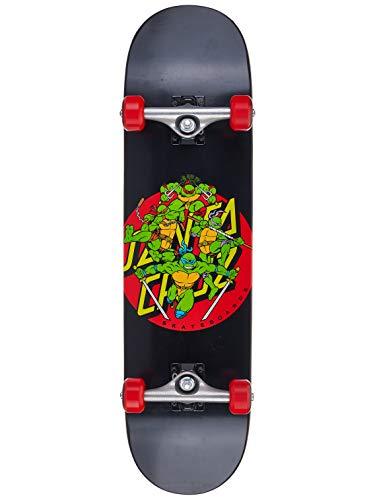 le Power Complete Skateboard,Black/Red,8.0