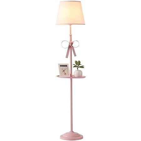 Lámpara de Pie Lámparas de Pie Lámpara de pie con lazo rosa ...