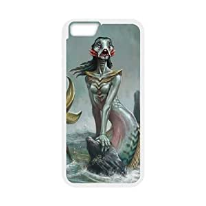 IPhone 6 Plus The little mermaid Phone Back Case Art Print Design Hard Shell Protection YG016886