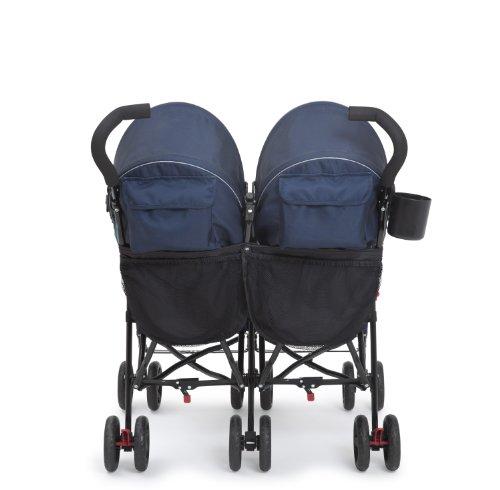 41W63izz7FL - Delta Children LX Side By Side Stroller, Night Sky