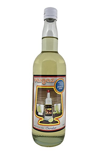 Vargas Jarabe De Goma - Simple Syrup - Gomme Syrup - Cocktail Syrups - Imported from Peru - 25 Oz. (750 Ml.) (Jarabe De Goma)