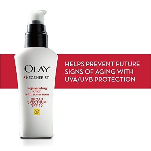 Olay Regenerist Regenerating Lotion Moisturizer with Sunscreen Spf 15, 2.5 fl oz