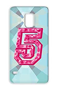 Dirtproof Pink Camo 5 Pink Miscellaneous Camoflauge Number Military Sports Five For Sumsang Galaxy S5 TPU Case