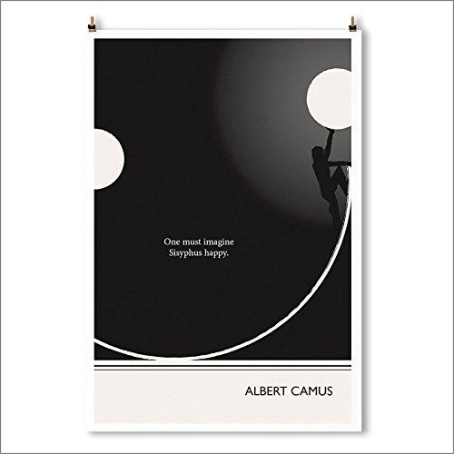 art-print-smile-albert-camus-literary-poster