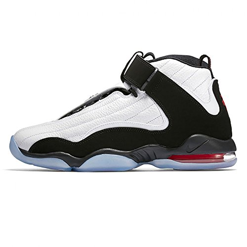 - Nike Men's Air Penny IV White/Black/True Red Basketball Shoe 10.5 Men US