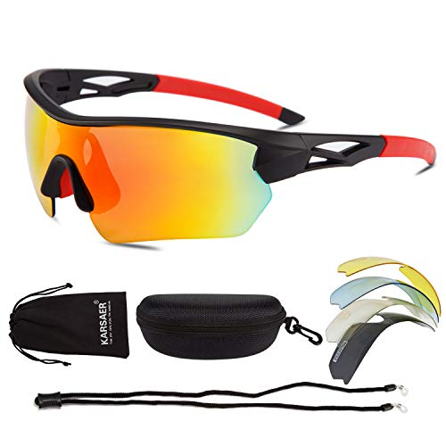 Karsaer Polarized Sports Sunglasses