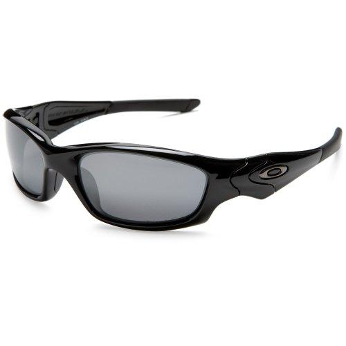 Oakley Straight Jacket Polarized - Polished Black w/ Black Iridium Lens - Polarized Iridium Black Lens