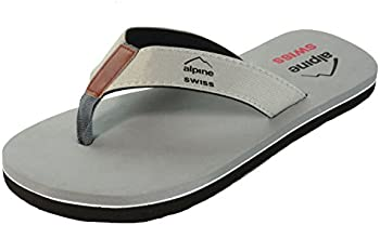 Alpine Swiss Men's Flip Flops Beach Sandals
