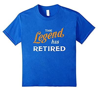 Legend Has Retired Since 2017 Gift Funny T Shirt Retirement