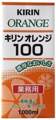 【業務用】キリン オレンジ 100% 1Lパック×6本×1ケース [その他]