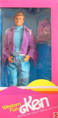 Barbie - Western Fun KEN Doll (1989 Mattel Hawthorne)