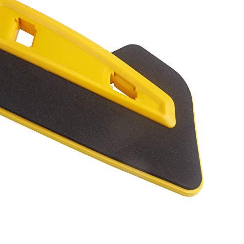 BEESCLOVER Ice Scraper Snow Brush Snow Shovel 64cm Removable Easy Storage Car Snow Shovel