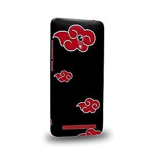 Case88 Premium Designs Naruto Akatsuki Emblem Carcasa/Funda dura para el ASUS Zenfone 6