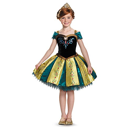 Disguise Anna Coronation Tutu Prestige Costume, Small (4-6x) -