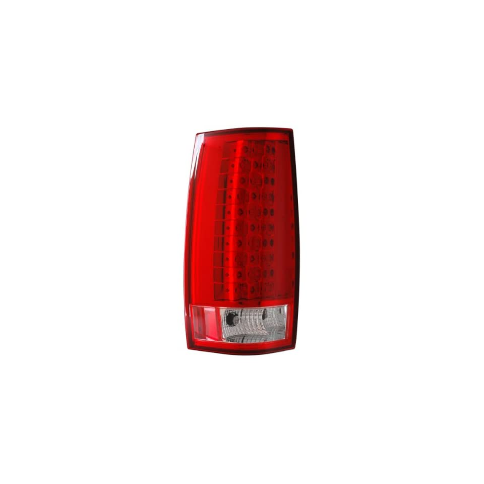 2007 2010 Chevy Tahoe/suburban Led G4 Tail Lights Red/clear (Escalade Look)