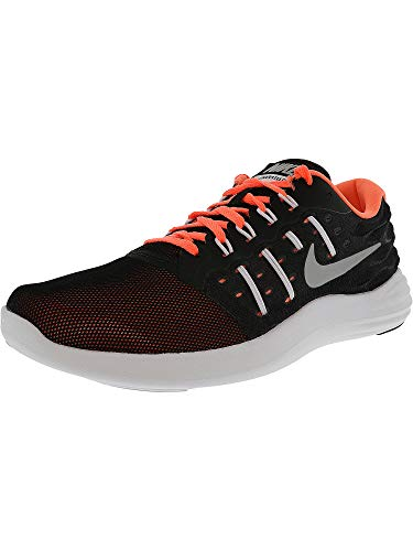 - Nike Lunarstelos Black/Metallic Silver/Blue Moon/Aluminum Women's Running Shoes