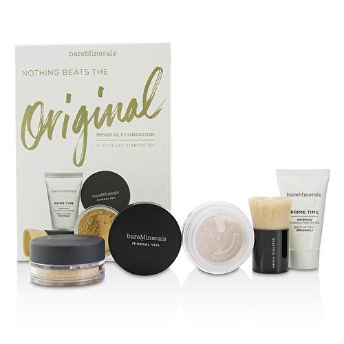 Bare Minerals Nothing Beats The Original Get Started Set Medium Beige 4pc Set Set