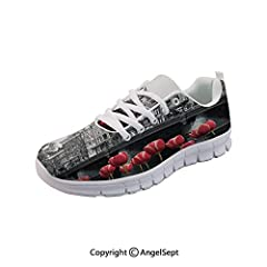 Product Description Flexible outsole gives the foot maximum range in movement.Classic shoeslace closure sneaker for easy on and off.Perfect choice to match with any sport or casual assemble. Suitable for parties, casual, walking, running, ind...