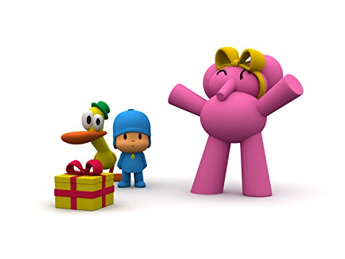 Pocoyo Halloween Toys (Fetch Loula Fetch! / A Little Cloud / A Present For Elly / Pocoyo)